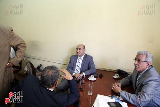 هشام جنينه بنقابه المحامين (1)