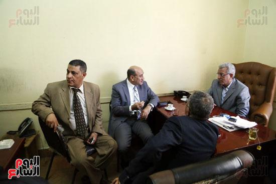 هشام جنينه بنقابه المحامين (2)