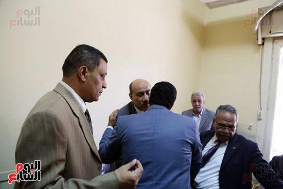هشام جنينه بنقابه المحامين (3)