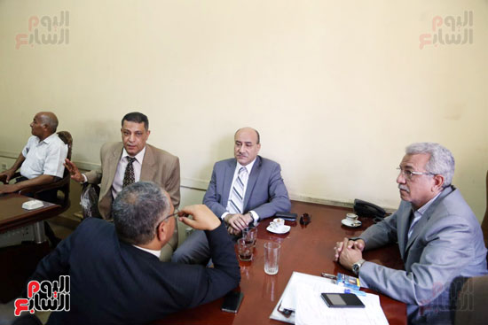 هشام جنينه بنقابه المحامين (4)