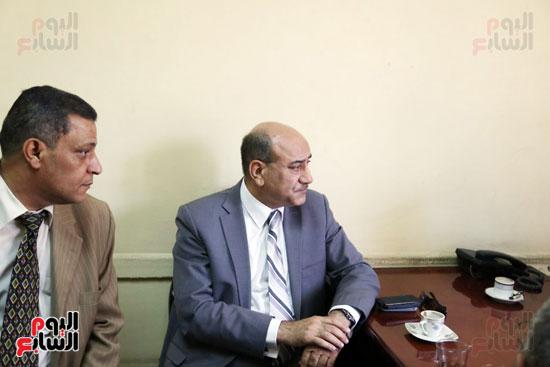 هشام جنينه بنقابه المحامين (6)