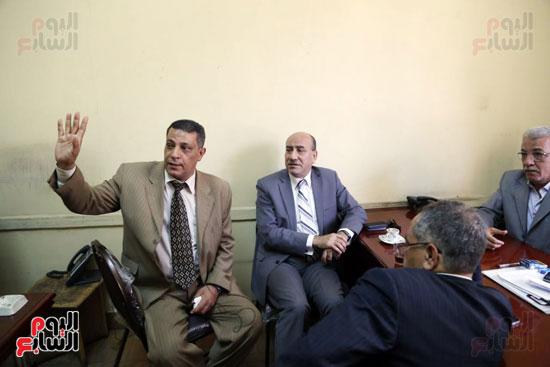 هشام جنينه بنقابه المحامين (7)