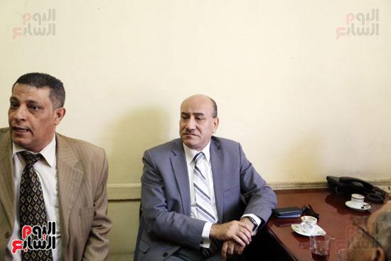 هشام جنينه بنقابه المحامين (8)