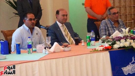 سليمان وهدان ،  الفريق مهاب مميش ، البرلمان المصرى ، مجلس النواب (2)