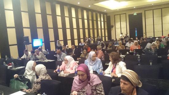 فعاليات اليوم الثانى للمؤتمر الخامس للجمعية المصرية لزرع النخاع وأمراض  (3)