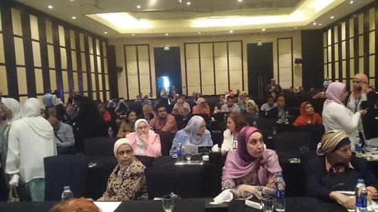 فعاليات اليوم الثانى للمؤتمر الخامس للجمعية المصرية لزرع النخاع وأمراض  (5)