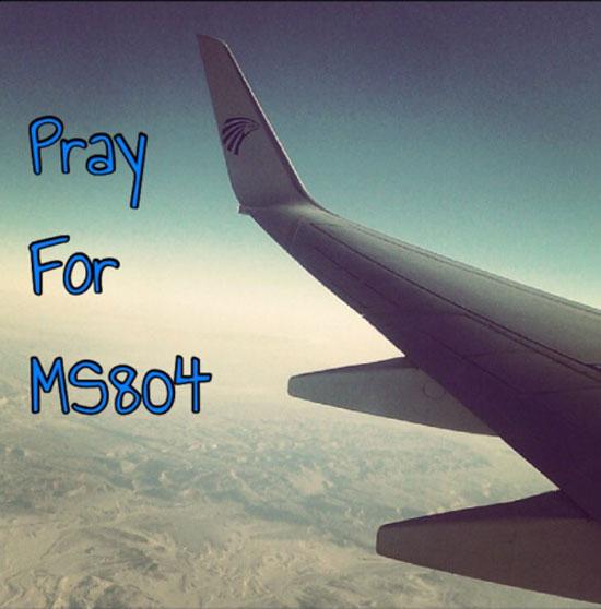 Rätsel um Egypt-Air-Flug MS804 (19.05.16) 520161919024817هاشتاج-PrayForMS804-(3)
