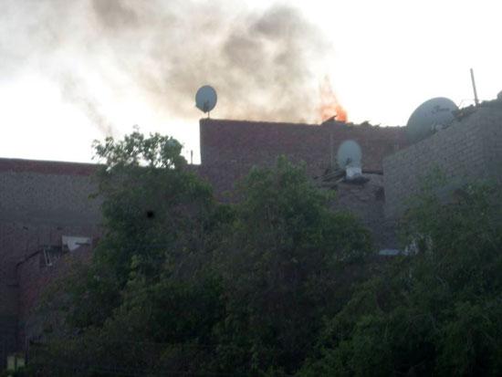 حريق بمنزل فى مدينة الخارجة (4)
