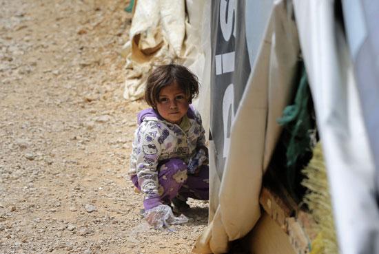 أطفال سوريا فى لبنان بين المدارس والقبور وانتظار الفرج  (10)