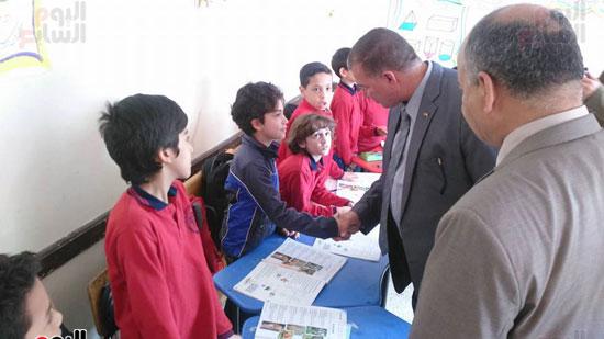 أول مدرسة تستغنى عن الدروس الخصوصية خلال عام بشمال سيناء (2)