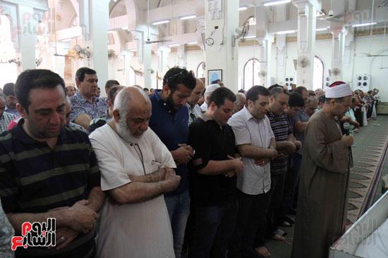 صلاة الغائب بمسجد ابو بكر الصديق  (11)