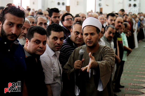 صلاة الغائب بمسجد ابو بكر الصديق  (7)