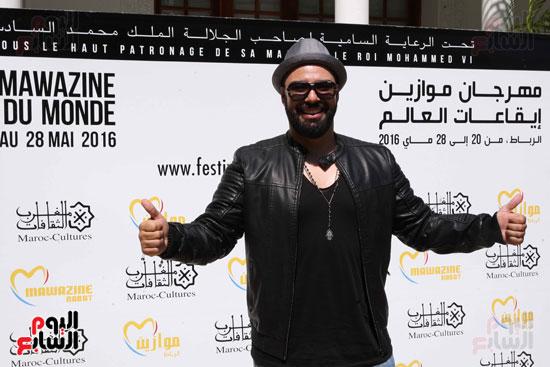 محمد-رضا-(4)مهرجان موازين الدولى