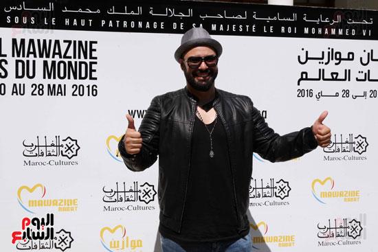 محمد-رضا-(6)مهرجان موازين الدولى