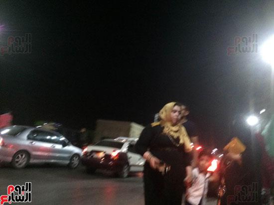 اصطدام 26 سيارة أثناء زفة عروسين بالدقهلية (2)