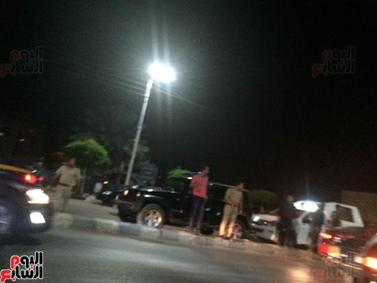 اصطدام 26 سيارة أثناء زفة عروسين بالدقهلية (3)