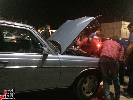 اصطدام 26 سيارة أثناء زفة عروسين بالدقهلية (5)