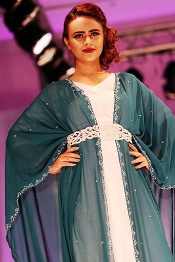76c0a6397827e بالصور.. أزياء عمانية بلمسة عصرية فى معرض الموضة النسائية بمسقط ...