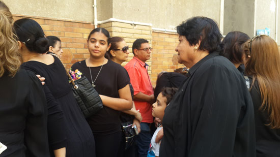 كنائس السويس تؤدى القداس على أمجد أرجنتو ضحية الطائرة المصرية المنكوبة (1)