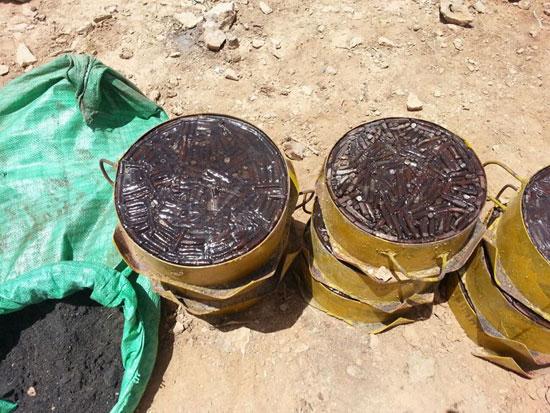 مقتل 13 إرهابيا وضبط 145 لغما فى وسط سيناء وجبل الحلال (5)