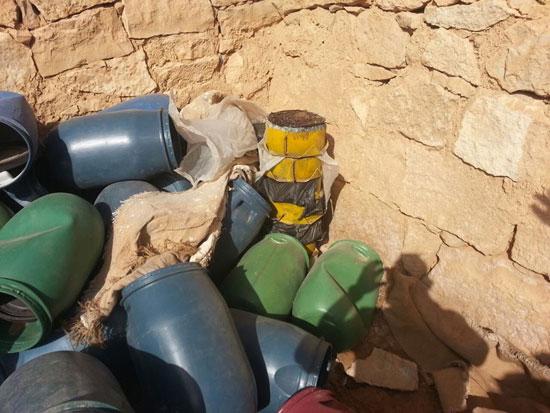 مقتل 13 إرهابيا وضبط 145 لغما فى وسط سيناء وجبل الحلال (8)