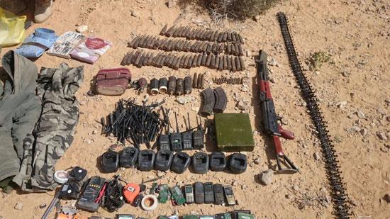 مقتل 13 إرهابيا وضبط 145 لغما فى وسط سيناء وجبل الحلال (10)
