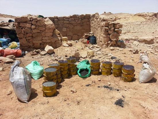 مقتل 13 إرهابيا وضبط 145 لغما فى وسط سيناء وجبل الحلال (12)