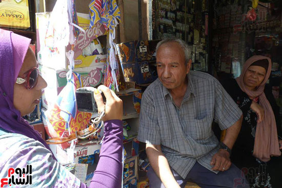 أصحاب المحلات التجارية بشارع باب الملوك بكرموز - بالإسكندرية (1)