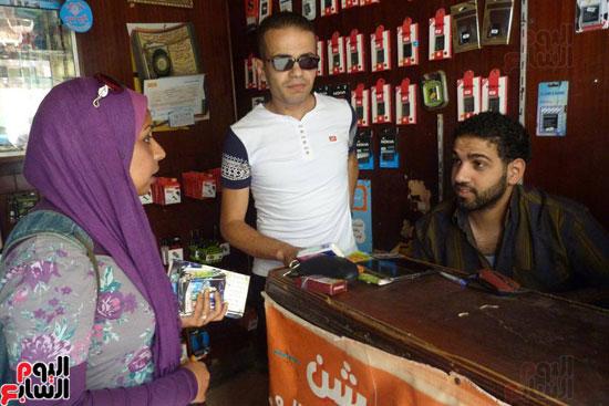 أصحاب المحلات التجارية بشارع باب الملوك بكرموز - بالإسكندرية (2)