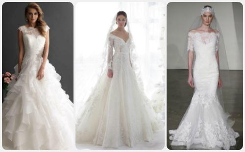 a55868908169b بالصور.. فساتين زفاف مناسبة لكل شخصية من الرومانسية للمطرقعة - اليوم ...