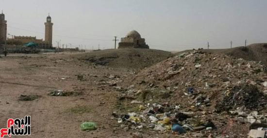 أضرحة الصحابة بقرية البهنسا بالمنيا (1)