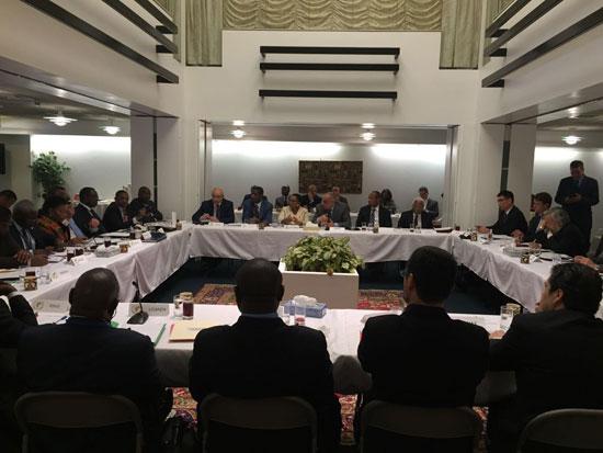 مصر ترأس اجتماعاً تشاورياً بين مجلسى الأمن الدولي والسلم الإفريقي (3)