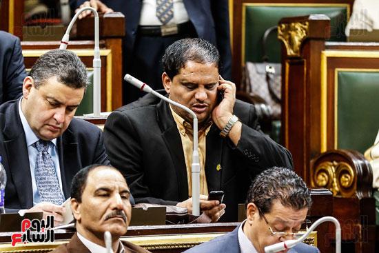 مجلس النواب ، اخبار البرلمان،  البرلمان المصرى، مصر اليوم،  الطوارئ بسيناء، حديث النواب فى الموبايل، على عبد العال  (1)