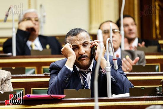 مجلس النواب ، اخبار البرلمان،  البرلمان المصرى، مصر اليوم،  الطوارئ بسيناء، حديث النواب فى الموبايل، على عبد العال  (2)