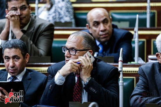 مجلس النواب ، اخبار البرلمان،  البرلمان المصرى، مصر اليوم،  الطوارئ بسيناء، حديث النواب فى الموبايل، على عبد العال  (3)