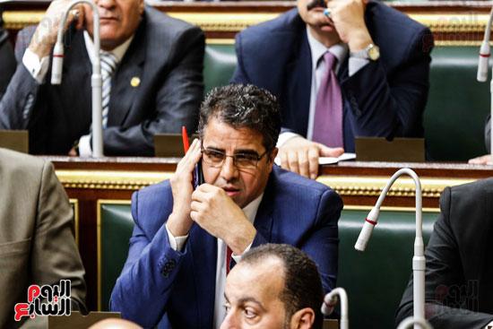 مجلس النواب ، اخبار البرلمان،  البرلمان المصرى، مصر اليوم،  الطوارئ بسيناء، حديث النواب فى الموبايل، على عبد العال  (4)