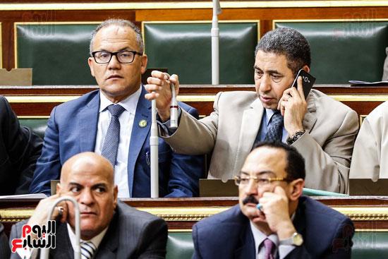مجلس النواب ، اخبار البرلمان،  البرلمان المصرى، مصر اليوم،  الطوارئ بسيناء، حديث النواب فى الموبايل، على عبد العال  (5)