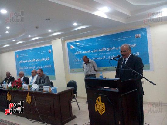 افتتاح المؤتمر الأدبى الرابع لإقليم جنوب الصعيد الثقافى بالأقصر (4)