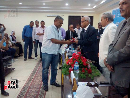 افتتاح المؤتمر الأدبى الرابع لإقليم جنوب الصعيد الثقافى بالأقصر (5)