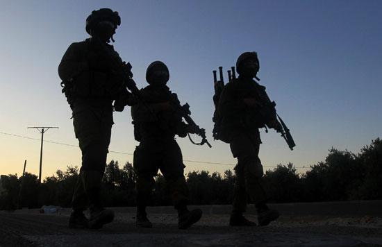 قوات الاحتلال الاسرائيلى (5)