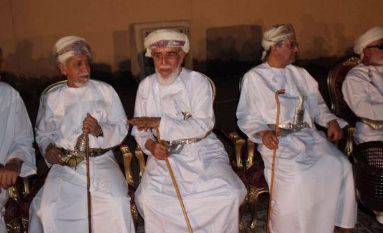السفير العمانى لدى مصر يشهد عقد قران نجله بمسقط (4)