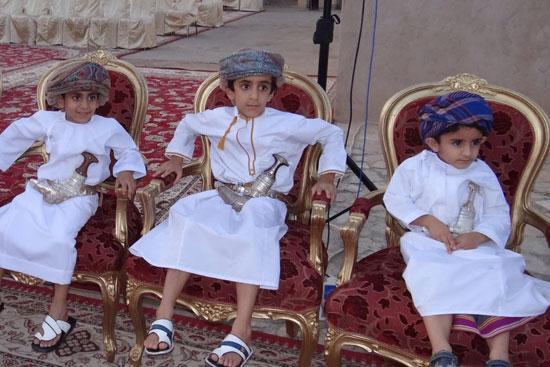 السفير العمانى لدى مصر يشهد عقد قران نجله بمسقط (7)