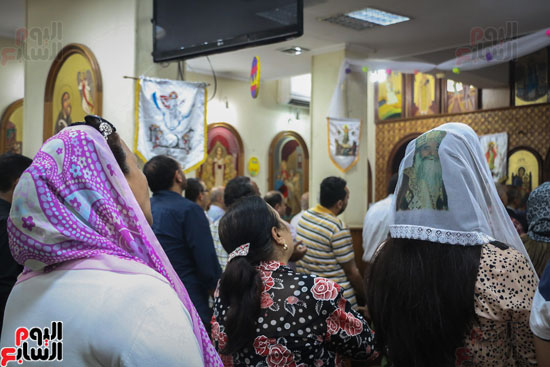 كنائس الإسكندرية تصلى من أجل المتضررين فى أحداث المنيا (17)