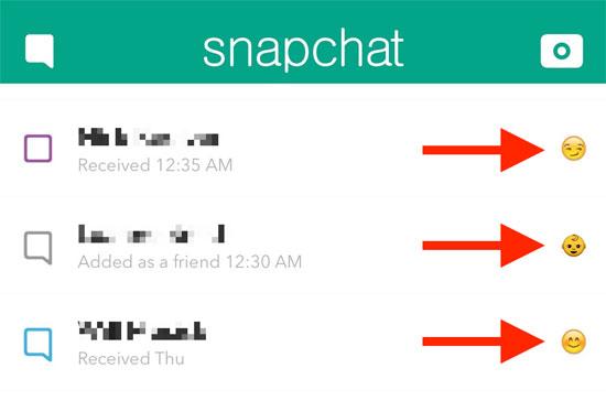 لمستخدمى سناب شات تعرف على معنى الرموز المختلفة التى تظهر بجوار أصدقائك اليوم السابع