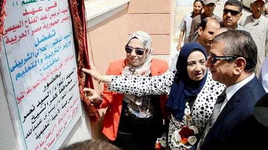 محافظ كفر الشيخ يفتتح مبنى التربية والتعليم الجديد (6)