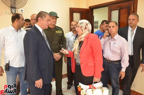 محافظ كفر الشيخ يفتتح مبنى الملحق الجديد لمديرية التربية والتعليم (4)