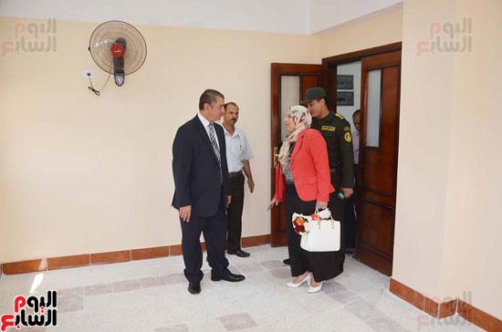 محافظ كفر الشيخ يفتتح مبنى الملحق الجديد لمديرية التربية والتعليم (5)