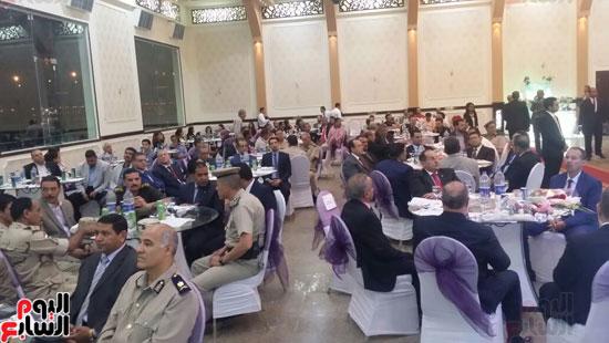 بدء احتفالية افتتاح قاعة مون لايت بنادى تجديف الشرطة بمحافظة سوهاج  (2)