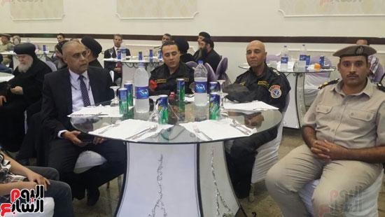 بدء احتفالية افتتاح قاعة مون لايت بنادى تجديف الشرطة بمحافظة سوهاج  (3)