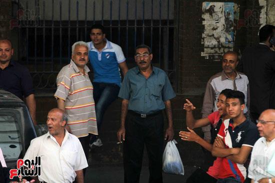 المواطنون الشرفاء امام نقابه الصحفيين (1)